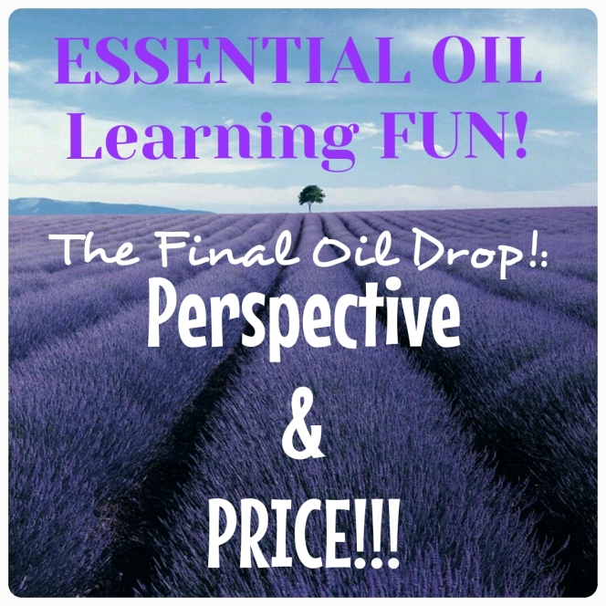 Oil Drop 7:  Perspecitive and PRICE (dun dun dunnnnnnnnn!!)