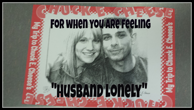 "Being ""Husband Lonely"""